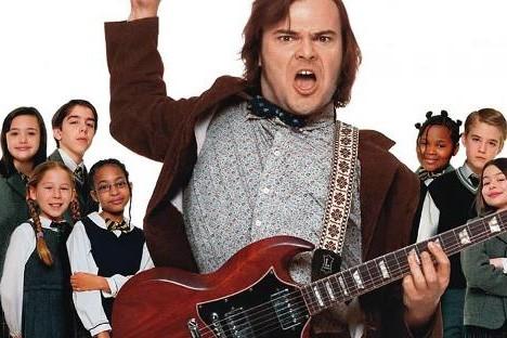 Jack Black dans School of Rock.... (Photo: fournie par Paramount Pictures)