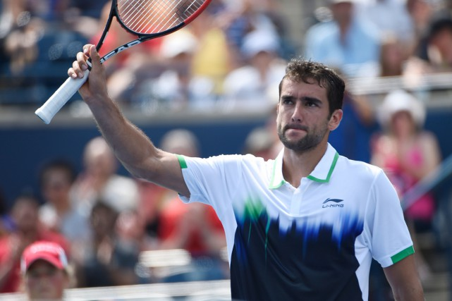 Marin Cilic... (PHOTO PETER LLWWELLYN, ARCHIVES USA TODAY)