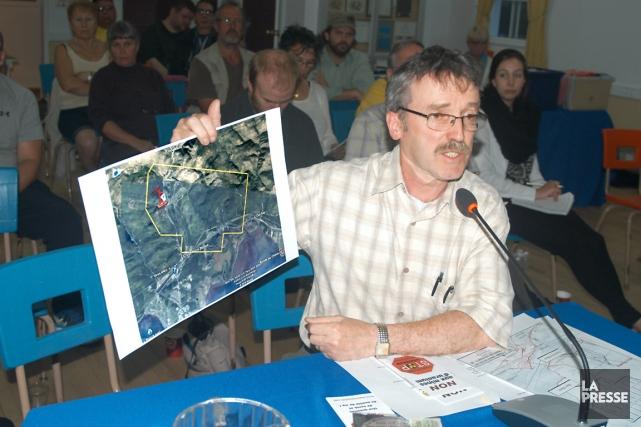 Michel Goudreau, d'Environnement Vert-plus... (Collaboration spéciale Gilles Gagné)