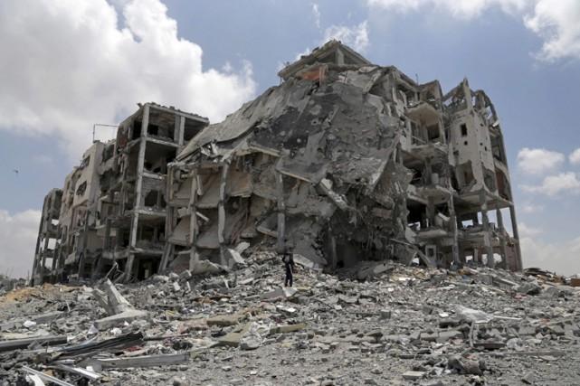 Israël et le Hamas ont accepté la proposition égyptienne d'une trêve de 72... (Photo: AFP)