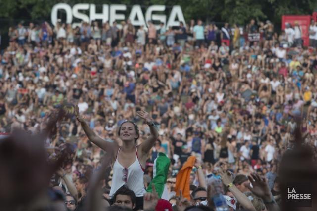 Le festival Osheaga, au parc Jean-Drapeau sur l'île... (PHOTO OLIVIER JEAN, ARCHIVES LA PRESSE)