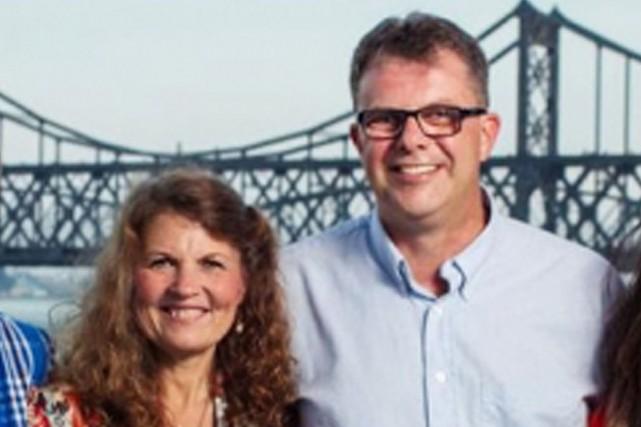 Kevin Garratt et Julia Dawn Garrattvivaient en Chine... (PHOTO SIMEON GARRATT, ARCHIVES AGENCE FRANCE-PRESSE)