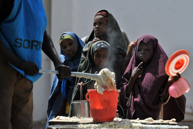 La famine de 2012 a fait environ 260... (PHOTO TONY KARUMBA, ARCHIVES AFP)