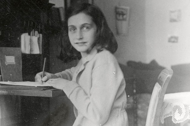 Anne Frank... (Photo: archives AP)