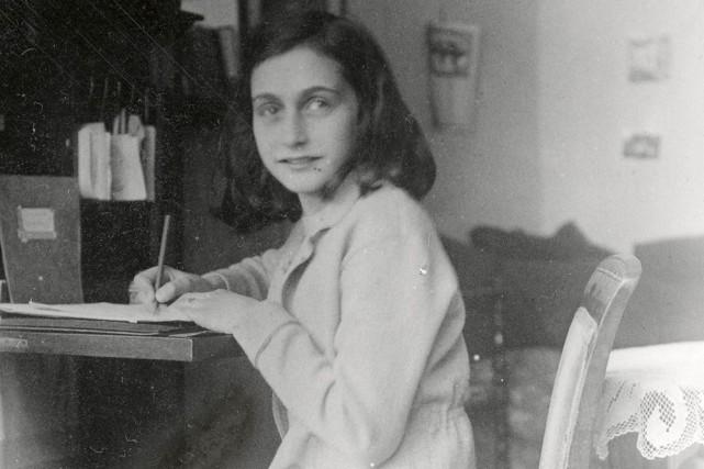 Anne Frank... (Photo: archives AP)