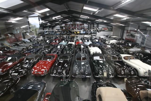 James Hull collectionne des voitures depuis 1979. Il vient de vendre à Jaguar... (Photo fournie par Jaguar)