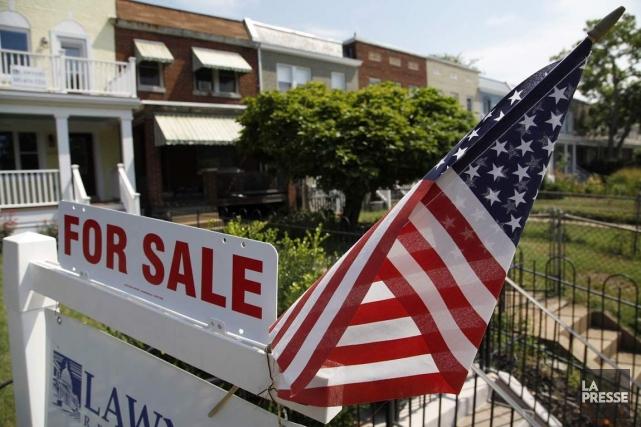 Les ventes d'habitations existantes ont diminué durant la... (Photo Jonathan Ernst, Archives Reuters)