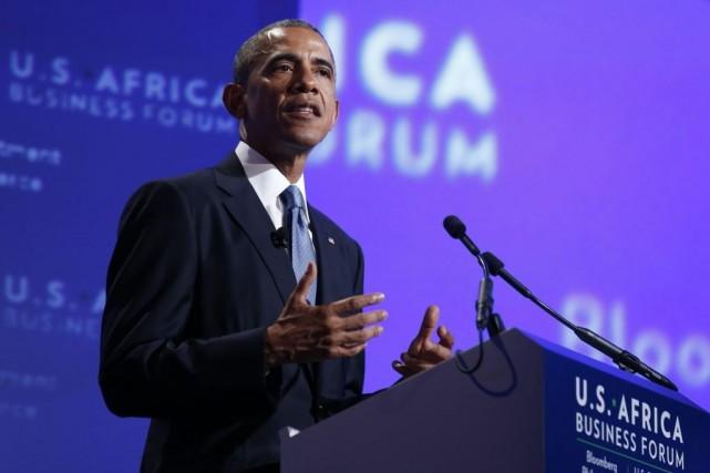 Après avoir mis en avant les chiffres, Barack... (Photo: Reuters)