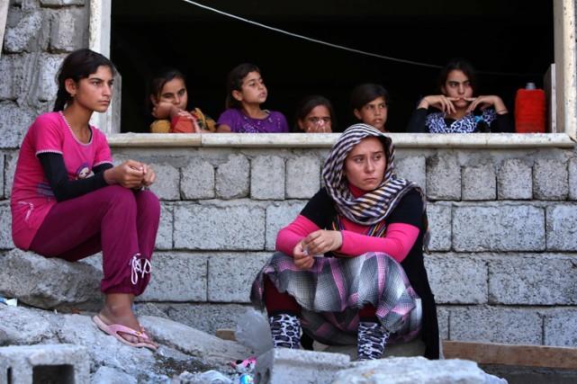 Selon les Nations Unies, jusqu'à 200 000 personnes... (Photo: AFP)