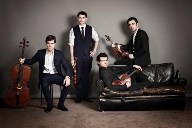 Le Quatuor à cordes Modigliani... (Photo: site internet du Quatuor à cordes Modigliani)