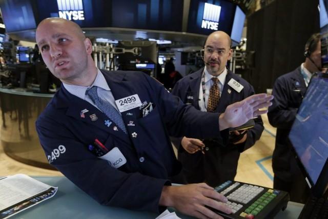 Les investisseurs sont en particulier fébriles face à... (Photo Richard Drew, archives AP)