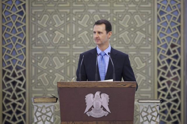 Bachar al-Assad... (Photo Reuters)