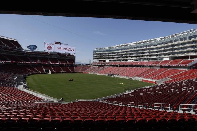 Le nouveau stade a été inauguré le 17... (Photo Eric Risberg, AP)