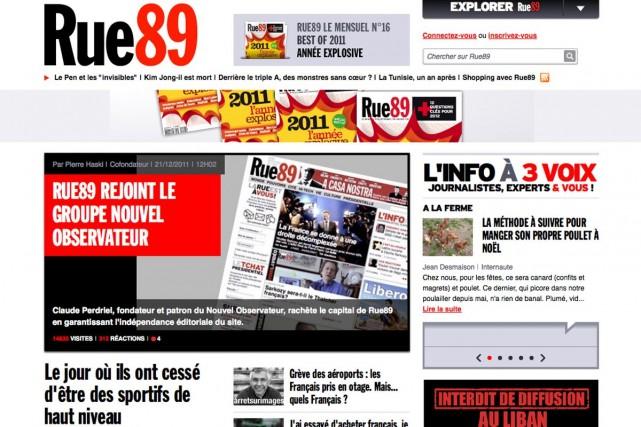 Le pirate informatique a revendiqué à plusieurs reprises... (Image tirée du site Rue89.com)
