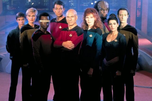 La distribution de Star Trek: The Next Generation:... (Photo: fournie par CBS)