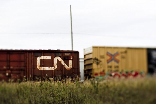 Via Rail indique que son service de trains de passagers a repris graduellement... (Photo Brent Lewin, Bloomberg)