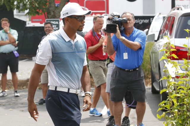 Tiger Woods... (Photo John Sommers II, Reuters)