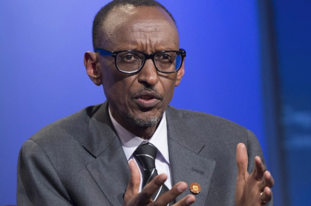 Président du Rwanda depuis 2000, Paul Kagame est... (AFP)