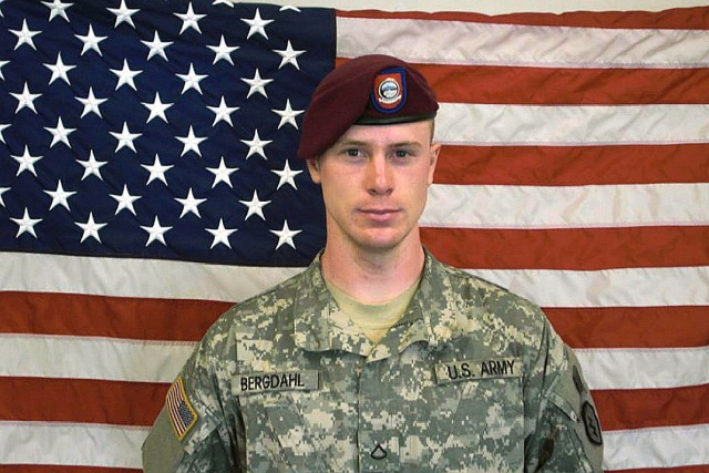 Le sergent Bowe Bergdahl.... (PHOTO ARCHIVES AFP)