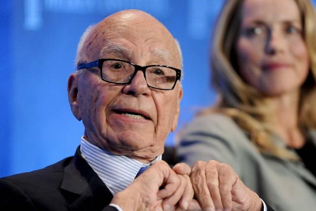 Le PDG Rupert Murdoch avait annoncé mardi soir... (Photo Gus Ruelas, Archives Reuters)