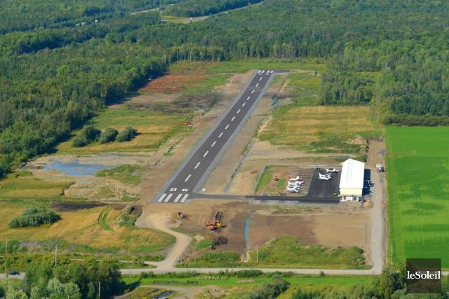 Aérodrome de Neuville... (Photothèque Le Soleil)
