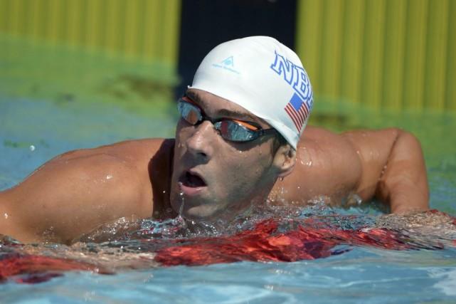 Michael Phelps, l'athlète le plus médaillé de l'histoire olympique, n'a pas... (Photo USA Today Sports)