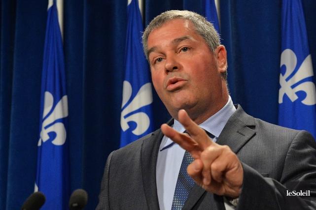 Le ministre de l'Éducation Yves Bolduc... (Photo archives Le Soleil)