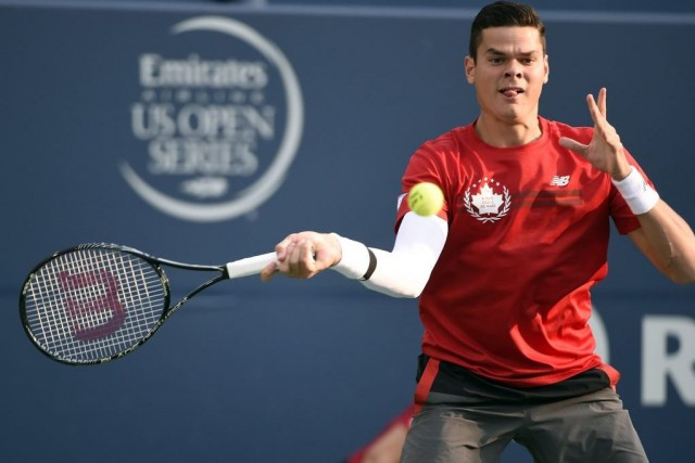 Milos Raonic... (Photo: Peuters)