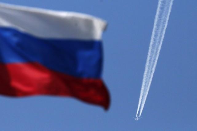 La fermeture de l'espace aérien russe pour les... (Photo ILYA NAYMUSHIN, Reuters)