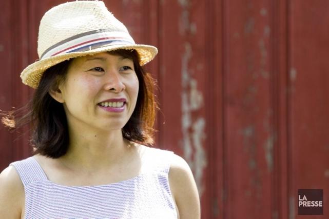 En 2010, alors que son premier roman Ru commence à prendre son envol,... (Photo: Olivier Jean, La Presse)