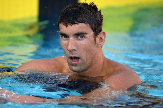 Michael Phelps... (Photo Kirby Lee, USA Today)