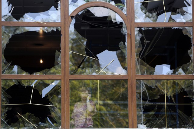 À Donetsk, la plus grande ville aux mains... (Photo SERGEI KARPUKHIN, Reuters)
