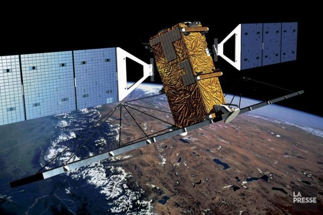 RADARSAT-2 fournira l'imagerie radar nécessaire à la gestion... (Photo fournie par MDA)