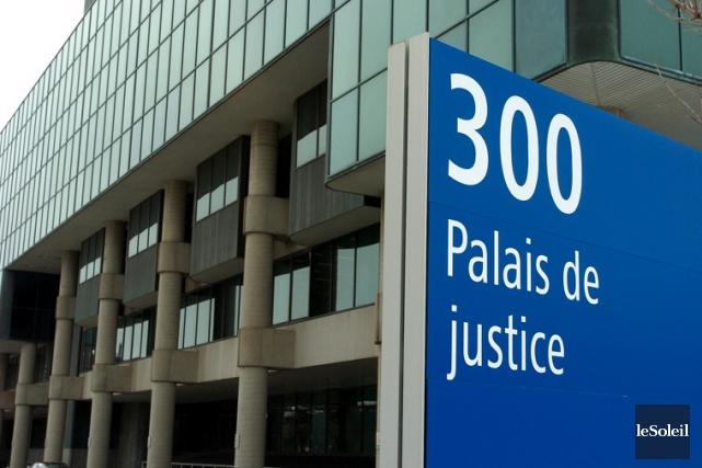Le palais de justice de Québec... (Photothèque Le Soleil)