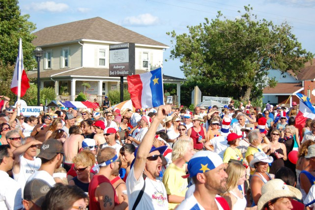Plus de 50 000 visiteurs sont attendus au... (Archives, Acadie-Nouvelle)