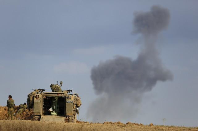 Le coût direct de l'offensive militaire israélienne de 50 jours dans la bande... (PHOTO AMIR COHEN, ARCHIVES REUTERS)