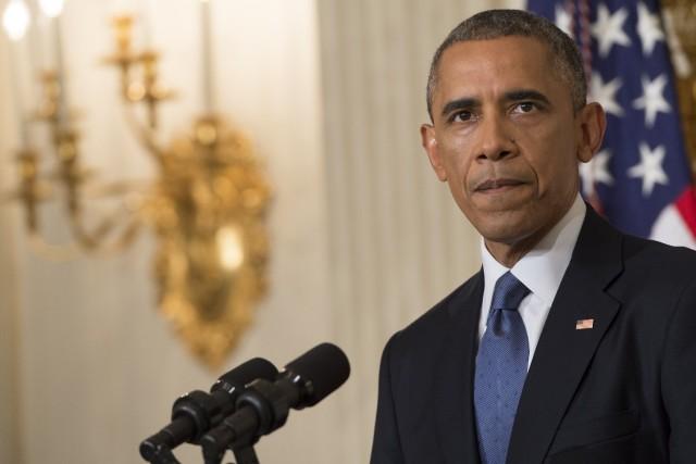 Le président des États-Unis Barack Obama... (Photo Saul LOEB, AFP)