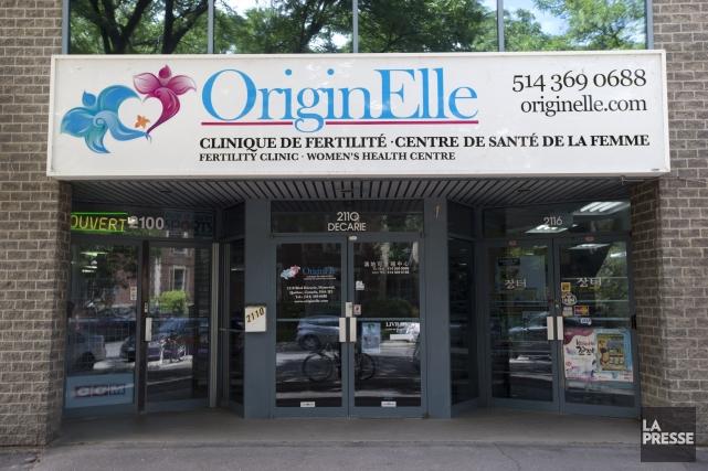 Les congélateurs de la clinique OriginElle contiennent un... (PHOTO ROBERT SKINNER, LA PRESSE)
