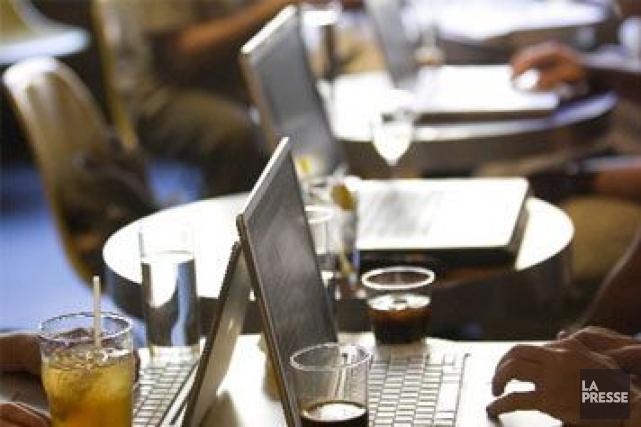 Les réseaux WiFi du monde entier pourraient potentiellement être piratés par le... (PHOTO IVANOH DEMERS, ARCHIVES LA PRESSE)