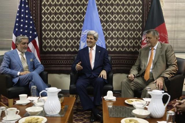 «Nous sommes engagés à travailler ensemble sur la... (PHOTO REUTERS)