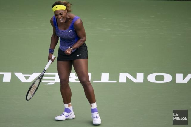 Serena Williams... (PHOTO DAVID BOILY, LA PRESSE)