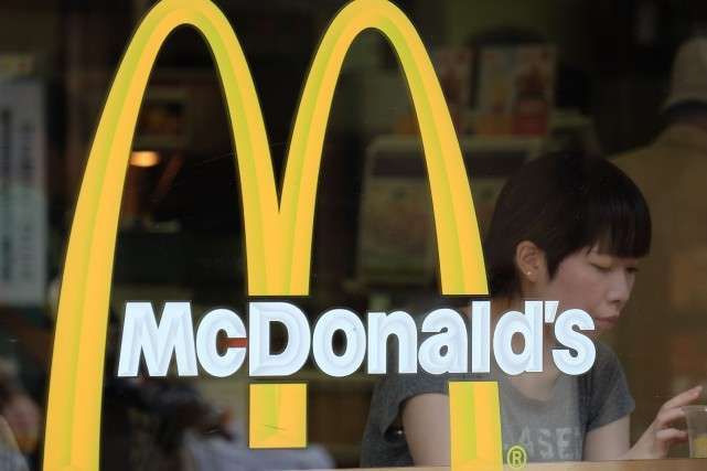 Les ventes de McDonald's se sont effondrées de... (PHOTO YURIKO NAKAO, ARCHIVES BLOOMBERG)