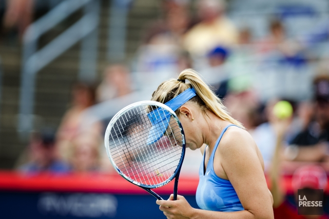 Maria Sharapova... (PHOTO MARCO CAMPANOZZI, LA PRESSE)