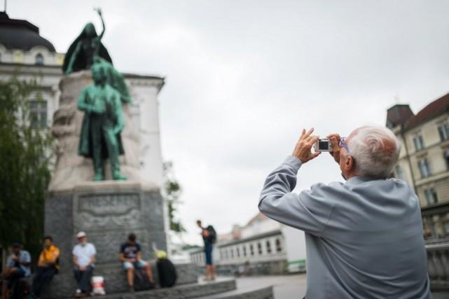 Même s'il ne parle pas slovène, Miquel Ribas... (Photo JURE MAKOVEC, AFP)
