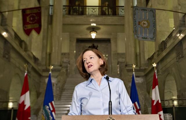 Le cas d'Alison Redford est particulier parce que... (PHOTO JASON FRANSON, ARCHIVES LA PRESSE CANADIENNE)