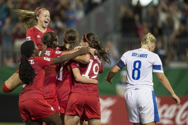 Après une contre-performance contre le Ghana, les Canadiennes... (Photo Chris Young, La Presse Canadienne)