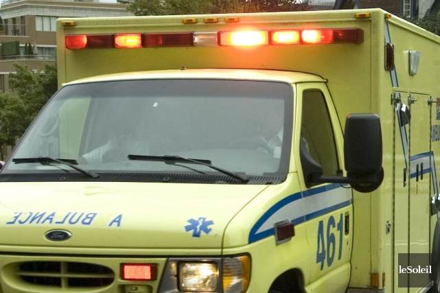 Un adolescent de 16 ans a été grièvement blessé après avoir été heurté par une... (Photothèque Le Soleil)