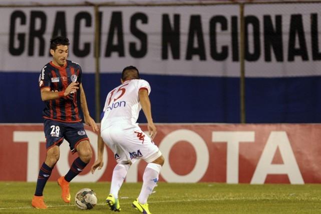 Ignacio Piatti (28) a disputé la première manche... (PHOTO NORBERTO DUARTE, AFP)