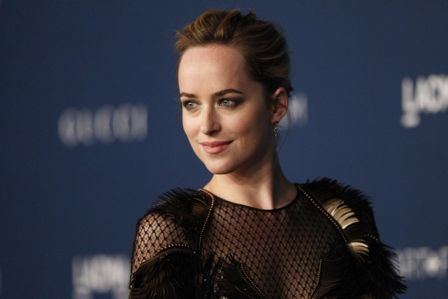 Dakota Johnson... (Photo Mario Anzuoni, Reuters)