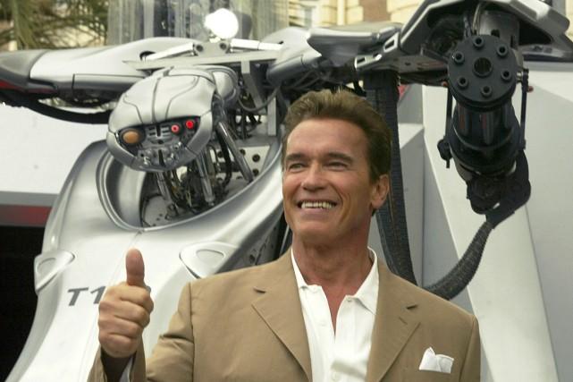 Arnold Schwarzenegger... (Photo Michel Euler, AP)